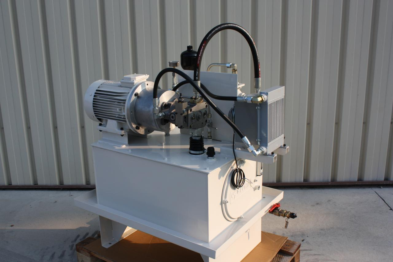 rétrofit d'une centrale hydraulique