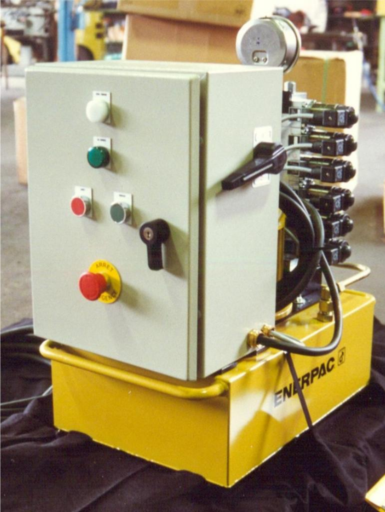 CENTRALE GPE ENERPAC AVEC DISTRIBUTION HAWE
