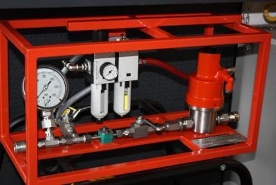 Banc hp multi fluid SPX POWERTEAM