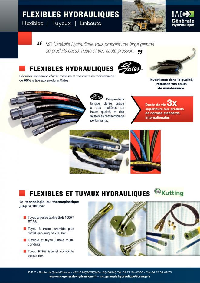 Flexible hydraulique