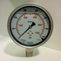 manomètre WIKA et capteur de pression