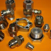 Raccord et adapteur hydraulique acier et inox