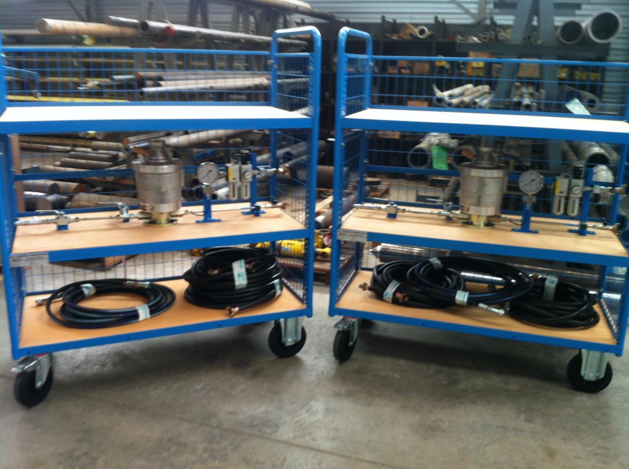 Chariot de test ENERPAC