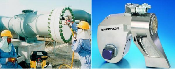 cle hydraulique enerpac de serrage