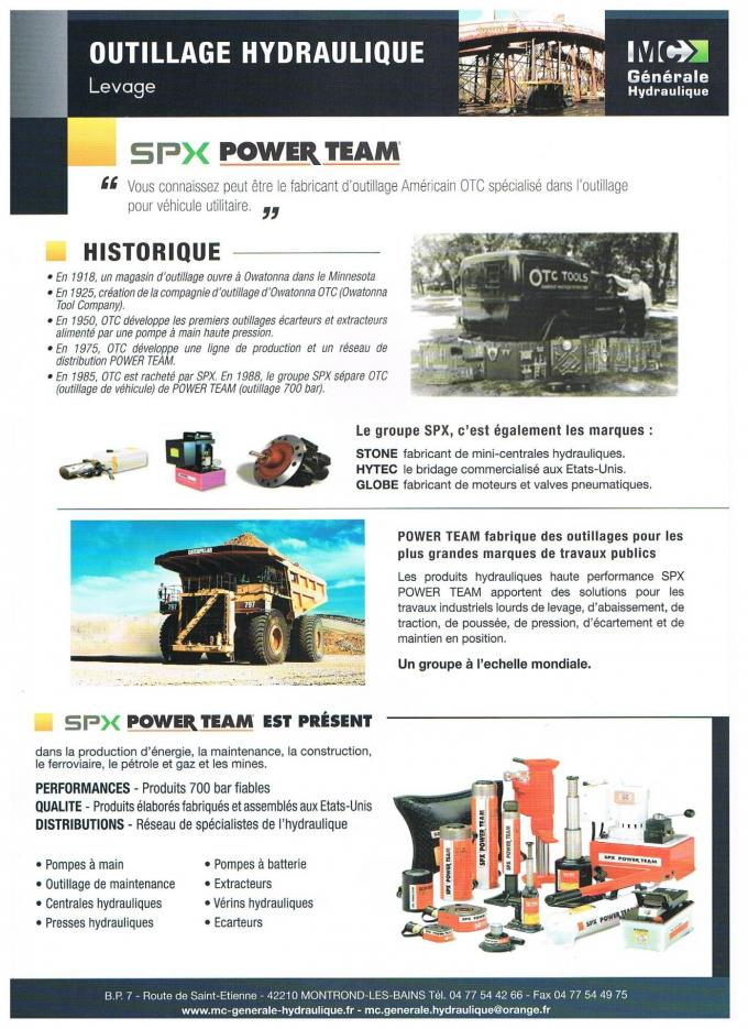 SAV SPX POWER TEAM FRANCE