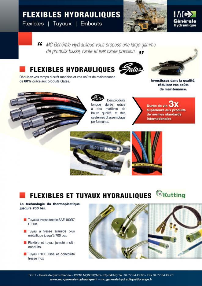 Flexible hydraulique