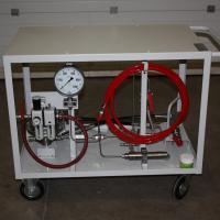 banc d'essai haute pression inox