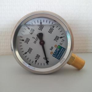 Manomètre hydraulique WIKA mcgh